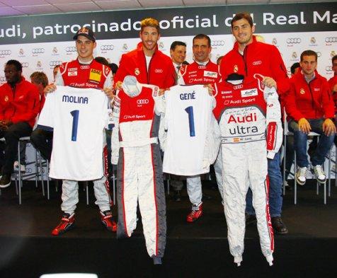 El Cuerpo T  Cnico De Real Madrid Recibieron Los Nuevos Autos