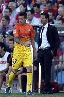 Alexis Sánchez y Barcelona festejaron el título con un triunfo sobre Atlético Madrid Foto_0000000120130512152757