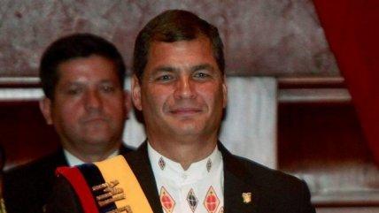 Rafael Correa criticó rol de El Mercurio en golpe de Estado contra Allende