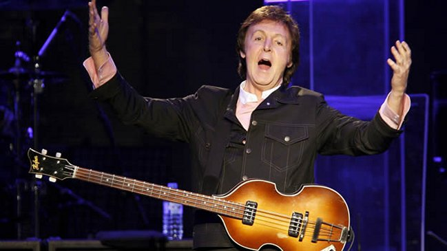 Baño Nuevo Coyhaique:Paul McCartney cumplió 71 años en medio de gira mundial