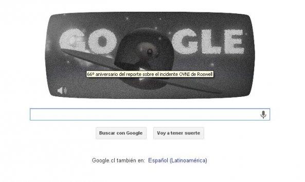 ... Google recuerda el caso Roswell con divertido juego - Cooperativa.cl