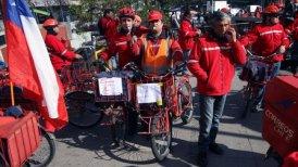 Unos 4.600 trabajadores se plegaron a la movilización.