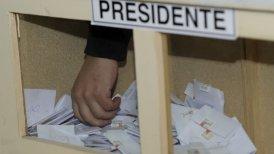La elecciones presidenciales serán el 17 de noviembre.