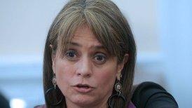 La ex alcaldesa compartió hoy con la abanderada presidencial Evelyn Matthei.