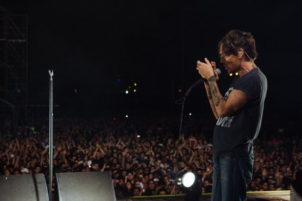 Fotos incubus record su paso por chile for Noticias mas recientes del medio del espectaculo