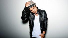Bruno Mars fue descargado 5,78 millones de veces.