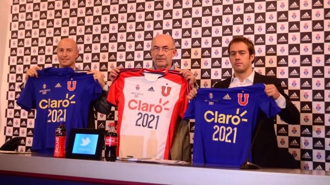 Universidad de Chile renovó millonario contrato con adidas hasta 2021