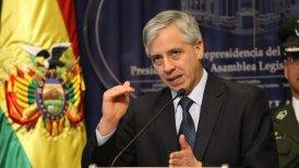 """Bolivia sería una """"potencia continental"""" con esas tierras, planteó García."""