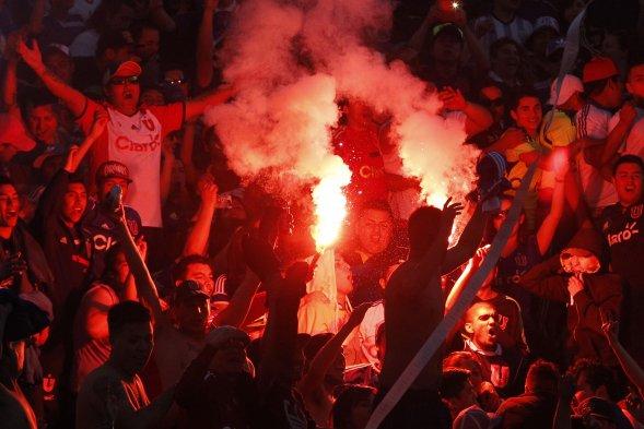 Revisa las mejores imágenes del triunfo de Universidad de Chile ante San Marcos (CHV) Foto_0000003120141005211305