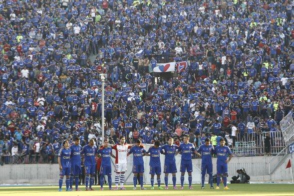 Revisa las mejores imágenes del triunfo de Universidad de Chile ante San Marcos (CHV) Foto_0000003420141005211305