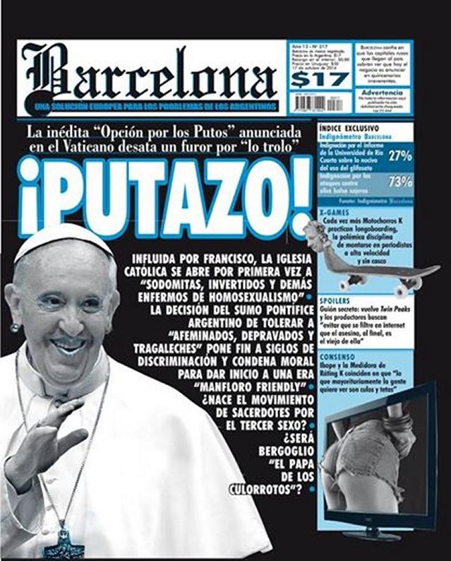 Polémica en Argentina  Revista llamó