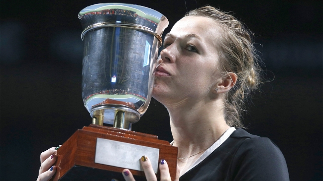 Pavlyuchenkova logra su segundo título del año