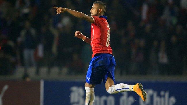 La selección chilena estrenó nueva cuenta de Twitter