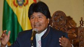 Chile recibirá ayuda de Bolivia