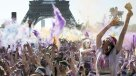 Franceses celebraron la segunda edición del Color Run