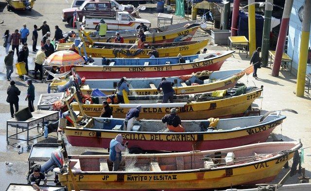 Resultado de imagen de imagen de caleta de pescadores