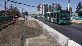 El alcalde teme que la construcción del corredor pueda generar caos vial en Maipú.