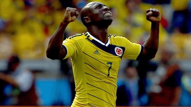 Futbolista colombiano detenido en Miami.