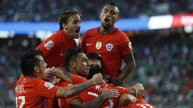 Todos los goles de Chile en la Copa América Centenario