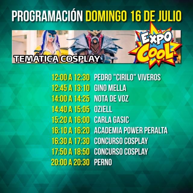 Expo cool dio a conocer su programaci n por d a for Viveros en nunoa