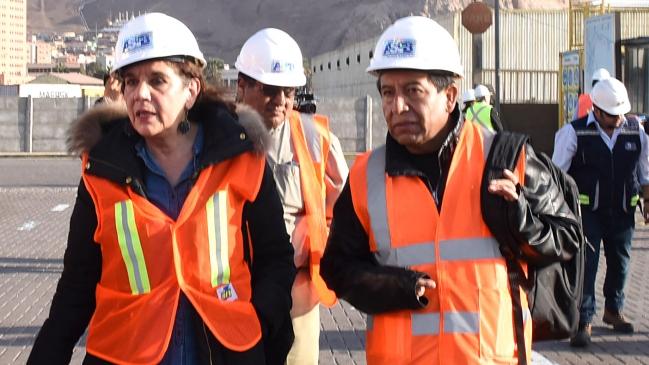 Críticas a autoridades chilenas marcaron visita de canciller boliviano al puerto de Arica