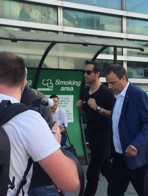 Claudio Bravo llegó a Inglaterra