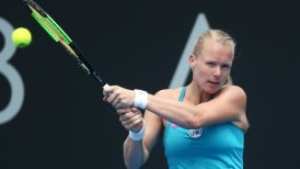 Kiki Bertens sigue imparable en Hobart.
