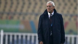 Lippi durante la China Cup.