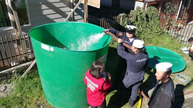 Instalan 28 estanques de agua potable para los habitantes for Estanques para almacenar agua potable