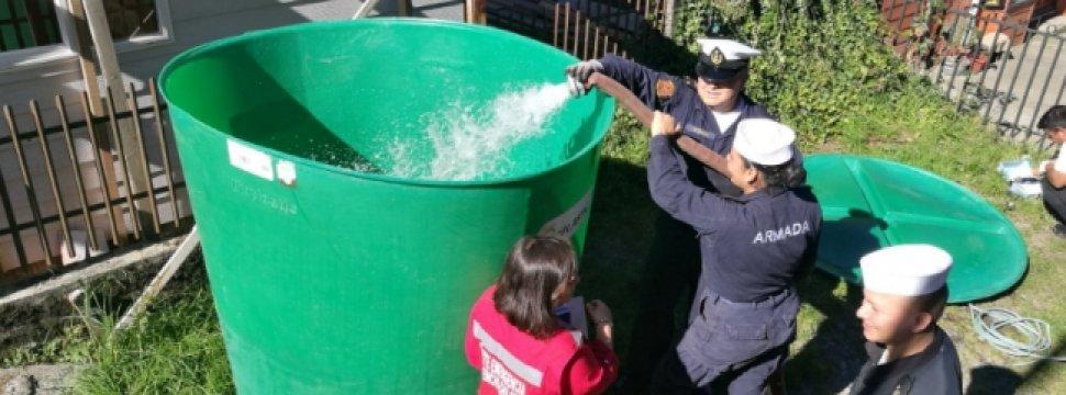 Instalan 28 Estanques De Agua Potable Para Los Habitantes