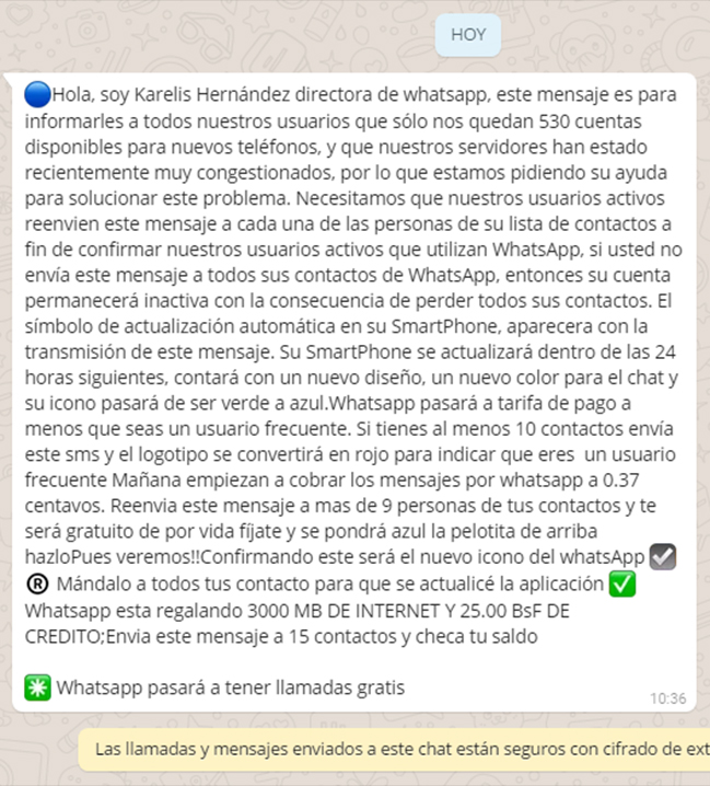 WhatsApp se cae y causa molestias a escala internacional