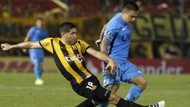 El futbol chileno da lastima otra vez en copa Libertadores