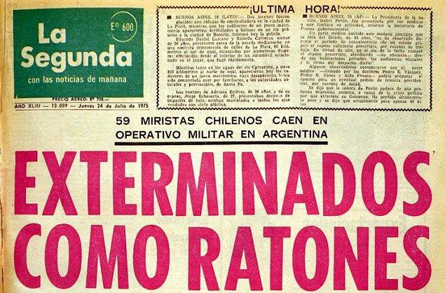 106 exagentes de Pinochet fueron condenados por Operación Colombo