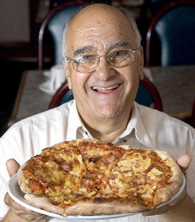 Muere el creador de la pizza hawaiana, Sam Panopoulos