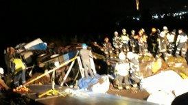 El fatal accidente se produjo en el sector denominado Cuesta Zúñiga.