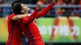 A Mexico futbolistas chilenos y que paso con Europa?
