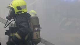 Personal de Bomberos dio con el cuerpo incinerado del fallecido.
