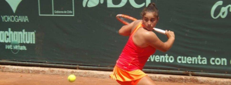 Bárbara Gatica se despidió del ITF de Campos do Jordao en ... - Cooperativa.cl