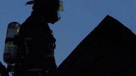 Bomberos investiga el origen de las llamas, que no afectaron a casas aledañas.