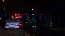Bomberos explicó que la víctima se encontraba en una habitación de difícil acceso.
