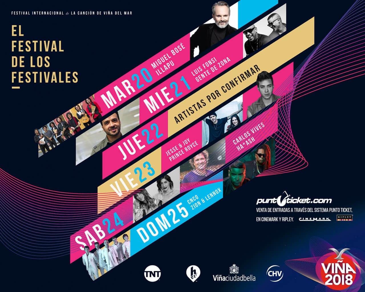 Europe anuncia presentación en el Festival de Viña 2018