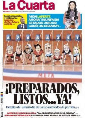 Fotos] Piñera y Guillier se encontraron en el lanzamiento de \