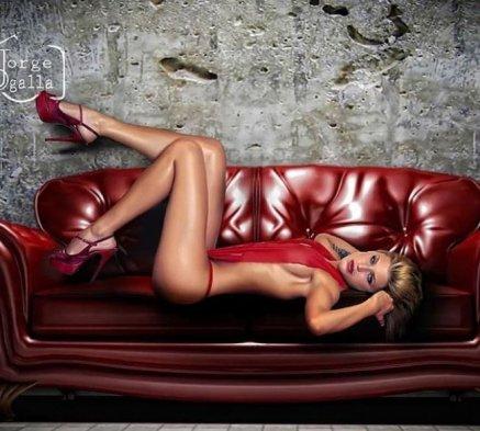 La ex chica reality Wilma González compartió en su cuenta de Instagram dos fotos de su ensayo que salió este jueves en la versión española de Playboy, donde aparece de pascuera.