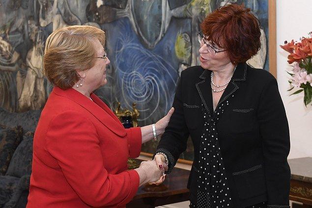 Presidenta chilena será líder de programa de Salud de la OMS