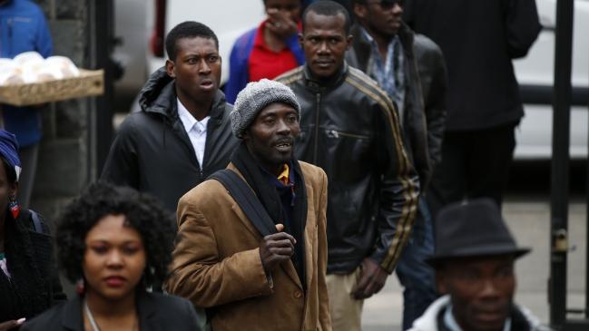 Resultado de imagen para inmigrantes haitianos en chile