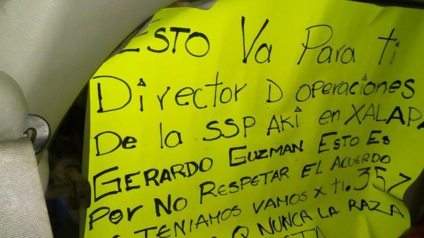 Los asesinados en Xalapa