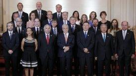 El gabinete está compuesto por siete mujeres.