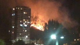 Se suspendió el tránsito en el ingreso a Concepción desde Chiguayante.