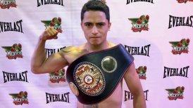 """Miguel """"Aguja"""" González pondrá en juego el cinturón latino súper mosca de la AMB."""