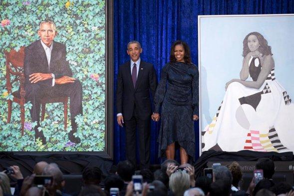 Retrato de Michelle Obama generó opiniones divididas